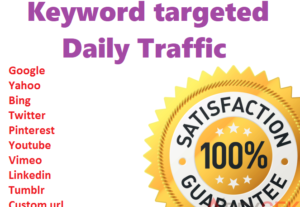 5101Send 200+ Daily CANADA Keyword Targeted Traffic For 10 Days. Limited Time Offer Grab It Now