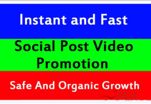 5115Instant Social Video and post Promotion and Marketing