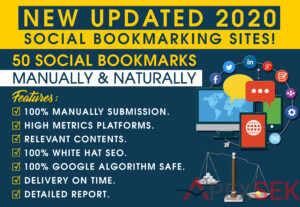 516750 Social Bookmarks Backlinks Manually And Naturally