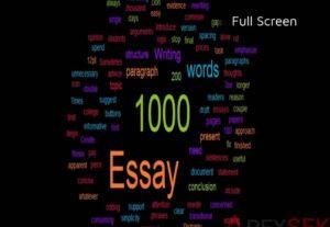 5065Writing a original content of 900 – 1000 words