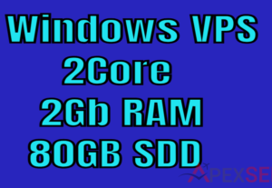 5077Provide Windows VPS 2Gb ram 2Vcore 50Gb SDD
